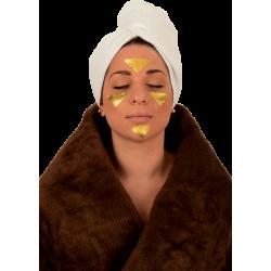 Gesichtbehandlung Blattgold