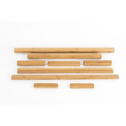 Bambus Set Lackiert